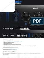 Black Box Analog Design Hg-2 Manual En