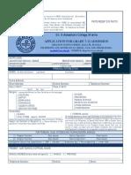St. Scholastica - Application Form