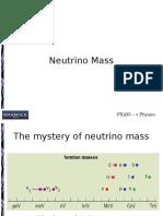 Neutrino Mass