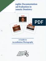 Documentación Fotográfica y Evaluación en Odontología Cosmética