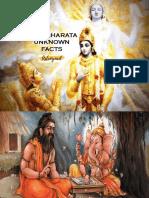 Mahabharata Facts