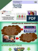 Administración y Factor Humano