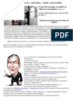 ATIVIDADE DE REFLEXÃODITADURA SERRA