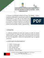 Convocatória-OSJPB-2018