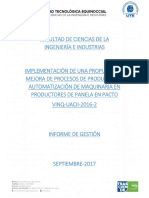 Informe de Gestion Oleas de BPH