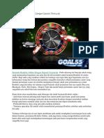 Bermain Roullete Online Dengan Deposit Termurah