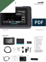 Pundit PL-200 Operating Instructions Portuguese High