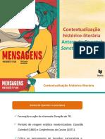 Contextualização Histórico-literária - Antero de Quental, Sonetos Completos