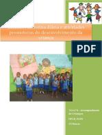UFCD_9185_Cuidados de Rotina Diária e Atividades Promotoras Do Desenvolvimento Da Criança_indice