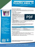 Scalpex Aqua 15 Ft Es