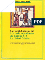 3- CIPOLLA, Carlo M - LIBRO- Historia Economica De Europa 1 - Edad Media.pdf