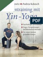 Faszientraining Mit Yin Yoga