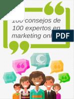 100 Consejos de 100 Expertos en Marketing Online