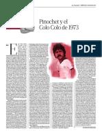 Pinochet y el Colo Colo de 1973