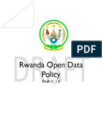 Rwanda Open Data Policy-Draft