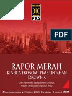 Rapor Merah 3Tahun Pemerintahan