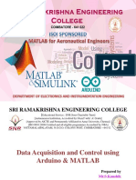 Data Acquisition and Control Using Arduino & MATLAB