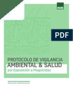 Manual Para Implementar Protocolo Plaguicidas en Empresa