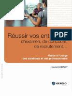 Gérard Kirady-Réussir Vos Entretiens d'Examen, De Concours, De Recrutement... - Guide à l'Usage Des Candidats Et Des Professionnels-Gereso (Éditions) (2010)_2