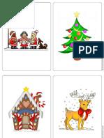 Imagier de Noël Sans Écriture