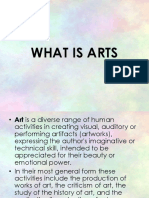 What is Arts