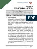 2) Memoria Descriptiva - Texto