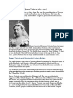 Short Biography of Queen Victoria.doc