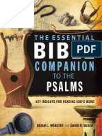 Essential Bible Companion to the Psalms by B. Webster and D. Beach, Excerpt