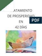 Tratamiento de Prosperidad en 42 Días