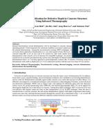 Quantitative Identification for Delamination in Concrete Structure by IRT