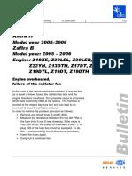 Opel Astra h Radiator Fan Failure Engine Overheats