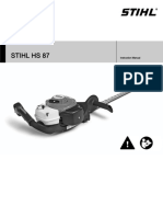 STIHL HS 87
