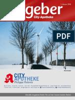 Ratgeber aus Ihrer City-Apotheke – Januar 2018