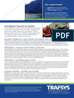 TRAFSYS Case Study Jondalstunnelen ENGLISH