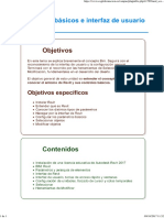 UNIDAD 07 Conceptos Básicos e Interfaz de Usuario de Revit