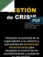 Gestión de Crisis empresarial.