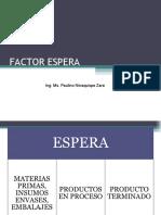 Factor Espera Clase5