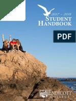 Student Handbook 2017 2018