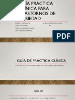 Guía de Práctica Clínica - Trastorno de Ansiedad (2)