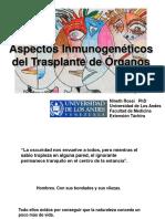 Inmunología del Trasplante