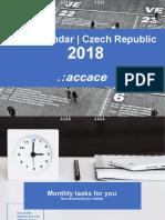 2018 Tax Calendar | Czech Republic