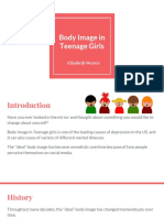 body image in teenage girls