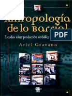 Ariel Gravano - Antropología de lo barrial - Estudios sobre producción simbólica de la vida urbana