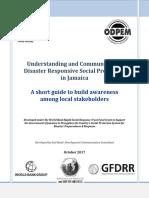 Communicating Disaster Responsive Social Protection- Facilitator's Guide