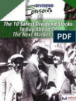 10 Safe Stocks 4 Market Crash