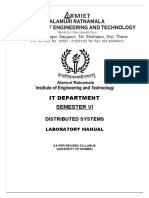 Distributed System Lab Manual New