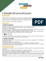 Exame de Qualificação UERJ