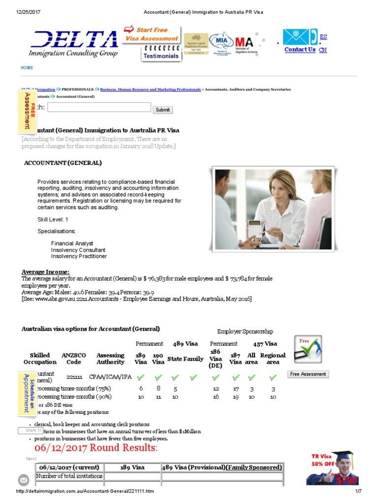 Accountant (General) 189 489 Options | Queensland | International