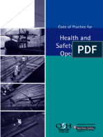 Code of Practice for Health and Safety in Port Operations