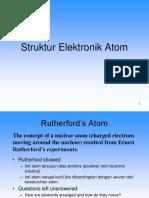 Struktur Elektronik Atom Dan Tabel Periodik